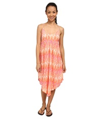 Columbia Light Waves Dress Coral Flame Women's Dress Orange