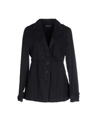 European Culture Coats And Jackets Full Length Jackets Women Dark Blue