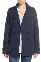 Women's Paige Denim 'Betty' Double Breasted Peacoat