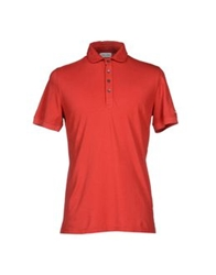 Magliaro Polo Shirts Red