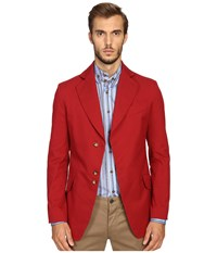 Vivienne Westwood Stretch Cotton Peacock Jacket Red