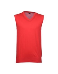 Patrizia Pepe Sweater Vests Red