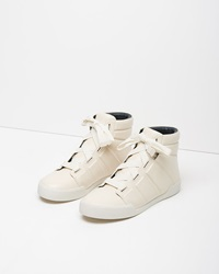 3.1 Phillip Lim Morgan High Top Sneaker Porcelain
