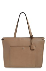 Louise Et Cie 'Yvet' Leather Tote Brown Warm Taupe