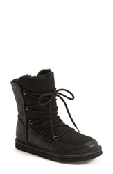 Women's Ugg Australia 'Lodge' Water Resistant Lace Up Boot Black