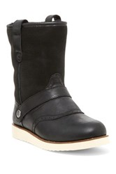 Australia Luxe Collective Yolo Genuine Sheepskin And Shearling Lining Boot Black