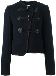 Carven Military Jacket Blue