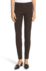 Joseph Women's Stretch Gabardine Leggings Ebony