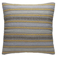Habitat Agnes Blue Stripe Cushion 60 X 60Cm
