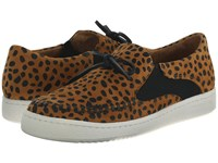 Thakoon Warwick 02 Cheetah Suede Women's Slip On Shoes Animal Print