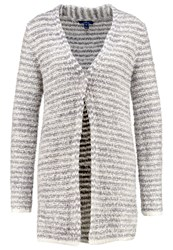 Tom Tailor Cardigan Light Silver Melange Grey