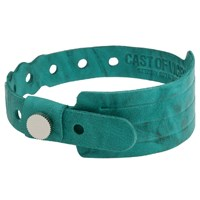 Cast Of Vices Leather Hospital Bracelet Turquoise