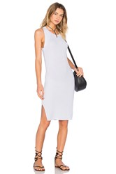 Feel The Piece Tiger Tank Dress Gray