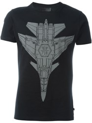 Philipp Plein 'Clever Rock' T Shirt Black