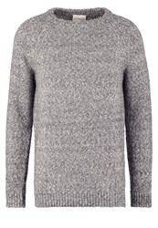 Dkny Jumper Dark Grey Melange Mottled Dark Grey