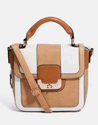 Oasis Rocker Colourblock Satchel Multi