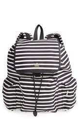 Kate Spade New York 'Classic Clay' Nylon Backpack Black Black Clotted Cream