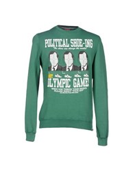 Joe Rivetto Topwear Sweatshirts Men Green