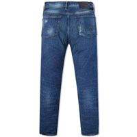 Edwin Ed 75 Relaxed Tapered Jean Hr 7 12 8Oz Rainbow Selvedge