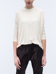 Publish Orrie Crop Sleeve Drap T Shirt