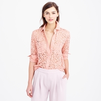 J.Crew Pre Order Collection French Lace Shirt