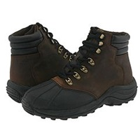 Propet Blizzard Mid Lace Brown Black Men's Boots