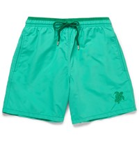 Vilebrequin Moka Mid Length Swim Shorts Green