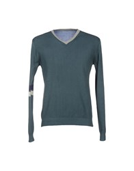 Szen Knitwear Jumpers Men Dark Green