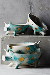 Anthropologie Nesting Pigs Measuring Cups Blue