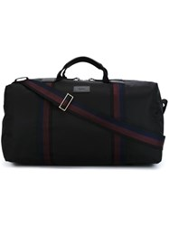 Paul Smith Striped Detail Holdall Black