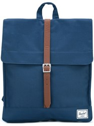 Herschel Supply Co. Single Strap Square Backpack Blue