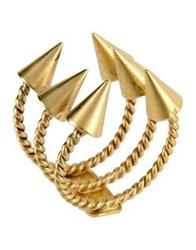 Ela Stone Rings Gold