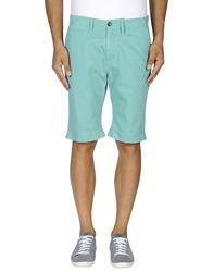 Levi's Made And Crafted Denim Bermudas Turquoise