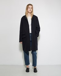 Chimala Military Wool Coat Navy