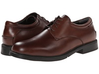 Nunn Bush Maury Plain Toe Oxford Lace Up Brown Men's Shoes