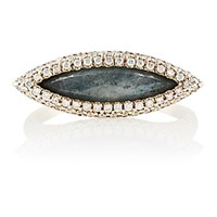 Monique Pean Atelier Women's White Diamond And Blue Sapphire Ring No Color