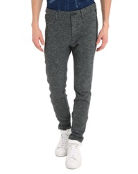Ikks Mid Grey Knit Trousers