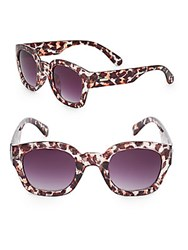 Minkpink Pour It Up 46Mm Cat's Eye Sunglasses Multi