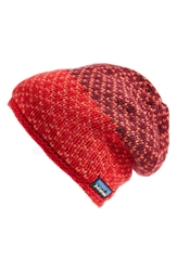 Patagonia 'Beatrice' Beanie Cochineal Red