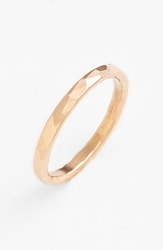 Ija Hammered Ring 14K Gold Fill