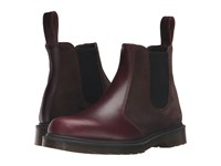 Dr. Martens 2976 Chelsea Boot Charro Brando Dark Brown Hi Suede Wp Lace Up Boots