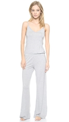 Splendid Long Romper Charcoal Heather Grey
