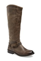 Hinge 'Dakotah' Knee High Riding Boot Women Gray