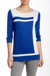 Cullen Geo Pattern Tunic Blue