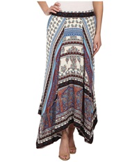 Dylan By True Grit Gypsy Skirt Multi Women's Skirt