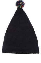 Grevi Men's Wool Blend Slouchy Hat Navy