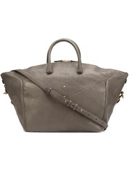 Jerome Dreyfuss Large 'Gerch' Tote Grey