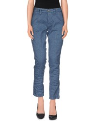 Truenyc. Trousers Casual Trousers Women Slate Blue