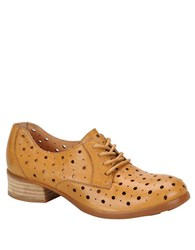 Born Dallyce Full Grain Leather Oxfords Brown