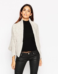 Lipsy Cable Knit Shrug 129Neutral